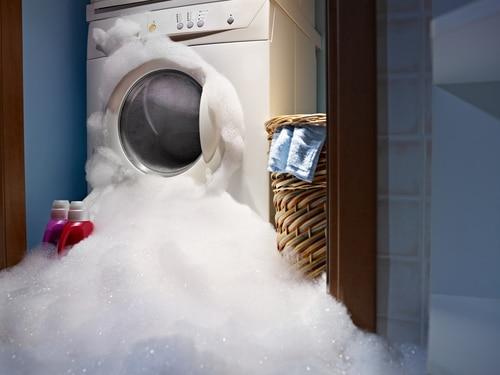 sinistre machine à laver