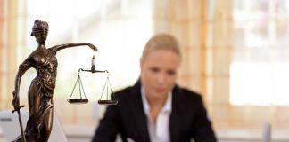 un avocat en plein travail